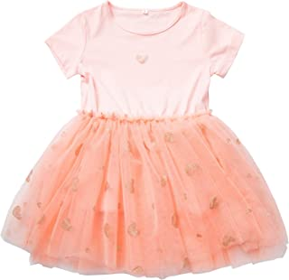 Pastel Tutu Dress for Little Girls 3-12 Years, Tulle Skirts for Daily or Party