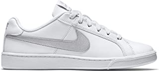 Nike Australia Women's Court Royale Trainers, White/Metallic Silver