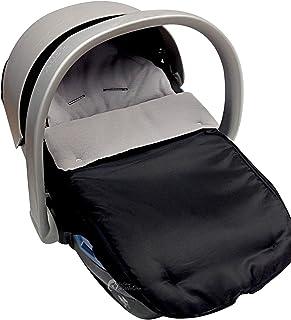 Asiento de coche para saco/Cosy Toes Compatible con Mamas y Papas gris