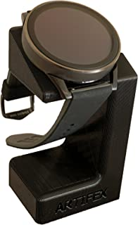 Artifex Design Stand Configured for Fossil Q Control Smartwatch Charging Stand, Artifex Charging Dock Stand (Black)