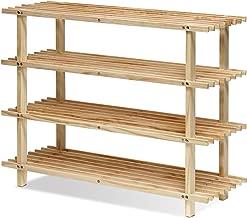 Best wooden 4 tier rack Reviews