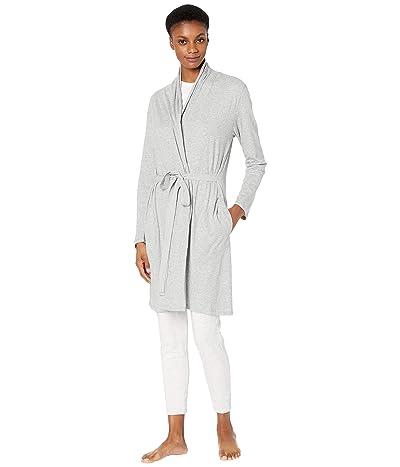Skin Organic Cotton Coleen Robe (Heather Grey) Women