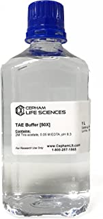 Tris-Acetate-EDTA (TAE) Buffer [50X] - 1 L