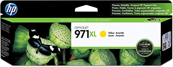 HP 971X | PageWide Cartridge High Yield | Yellow | Works with HP OfficeJet Pro X451, X476, X551, X576 | CN628AM