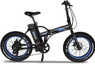 Emojo Lynx Folding Electric Bicycle 500W 36V or 48V E-Bike 20 X 4.0 Fat Tire Bike Beach Cruiser Foldable E-Bike for Burning Man
