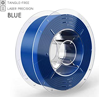 SainSmart PRO-3 Tangle-Free Premium 1.75mm PLA 3D Printer Filament for Ender-3, Blue PLA, 2.2 LBS (1KG) Spool, Dimensional Accuracy +/- 0.02mm