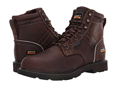 Ariat Groundbreaker 6 II H2O Steel Toe (Dark Brown) Men