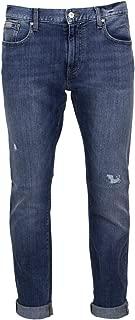 A X Armani Exchange Men's Slim Fit Stretch Distressed Jean