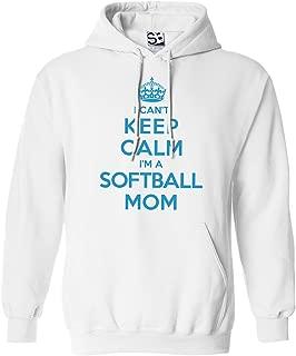 Shirt Boss Unisex Softball Mom HOODIE - I Can't Keep Calm I'm a