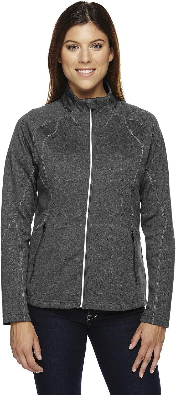 Ladies' Gravity Performance Fleece Jacket CARBN HEATH 452 XS