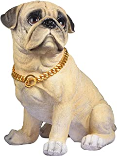 Short Cuban Collar Gold Chain for Dogs 15MM Width 16 Inches Bullmastiff Accessories