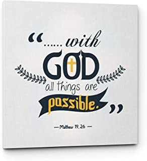 Best for with god all things are possible kjv Reviews