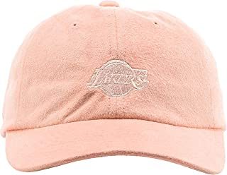 NBA Micro Suede Slouch Strapback Dad Hat