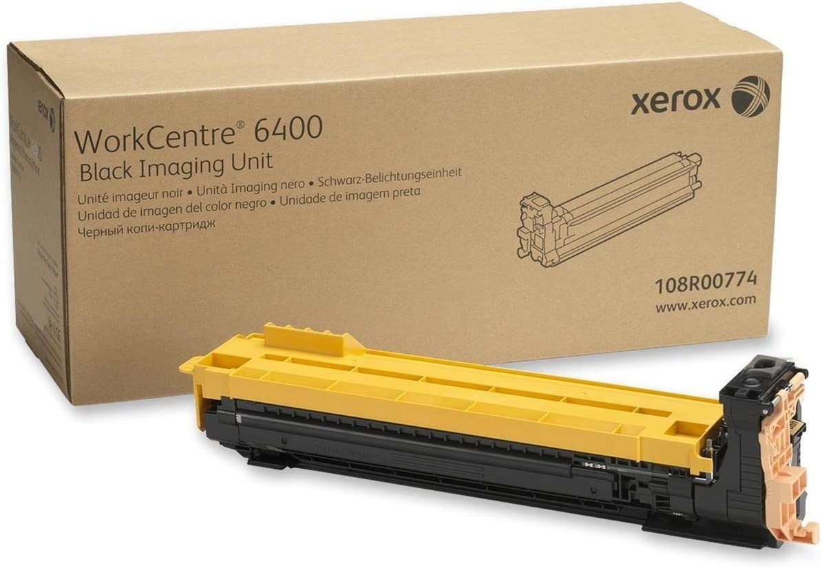 Xerox 108R00774 WorkCentre 6400 Imaging Unit (Black) in Retail Packaging