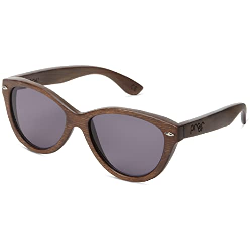 52472861b1661 Proof Eyewear Unisex McCall Stained Wood Handcrafted Water Resistant Wooden  Sunglasses