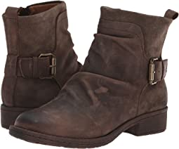 Chocolate Rodeo/Dark Taupe Oiled Cow Suede