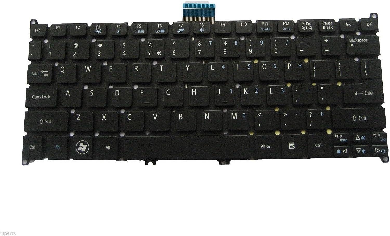 NK.I101S.02M New Genuine Acer Aspire One 725 756 AO725 AO756 Black Netbook Keyboard