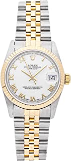 Rolex Datejust Mechanical (Automatic) White Dial Womens Watch 68273 (Certified Pre-Owned)