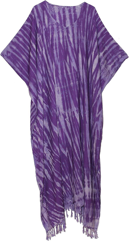 ATM Tie Dye Loungewear Long Poncho Dress Max 46% OFF Excellence Kaftan Caftan Bohemian