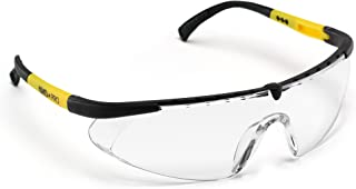 ANSI Approved Safety Glasses with Anti Fog/Scratch Resistant Lenses- Heavy Duty Nylon Frames- Superior Eye Protection for Shooting/Cycling/Construction Work & More (Clear)