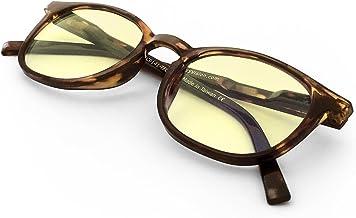 J+S Vision Blue Light Shield Computer Reading/Gaming Glasses - 0.0 Magnification - Anti Blue Light 100% UV Protection - Hi...