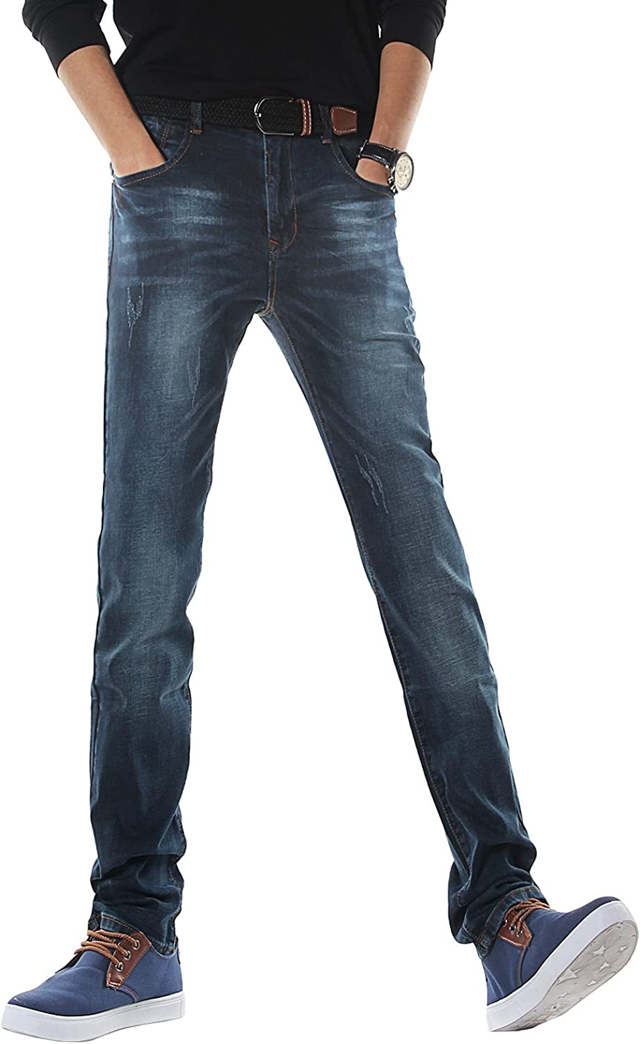 Purchase DemonHunter Men's Slim Fit Jeans Stretch S30S3 Max 63% OFF