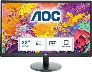 AOC Monitor E2270SWHN - 22