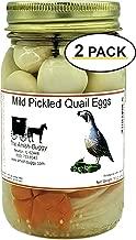 Pickled Quail Eggs (Mild Pickled Quail Eggs (Mild Heat)) 2 jars