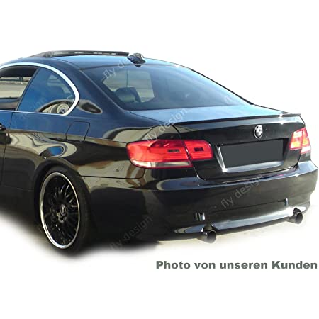 Car Tuning24 54441376 Wie Performance Und M3 1er E82 E81 E88 Tuning Spoiler Carbon Look Heckspoiler Slim Lippe Heck Flaps Auto