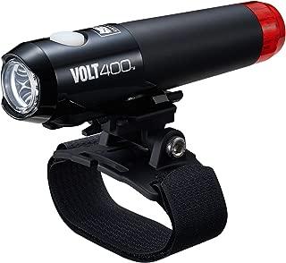 キャットアイ(CAT EYE) ヘルメット用ライト VOLT400 DUPLEX HL-EL462RC-H USB充電式