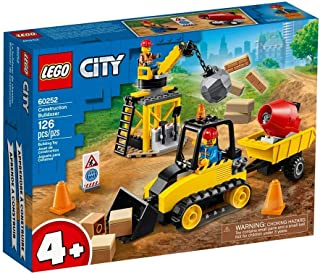 LEGO City Great Vehicles Construction Bulldozer for age 4+ years old 60252