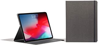 Contega Thin Case Compatible with iPad Pro 12.9 3rd Gen (Linen Gray)