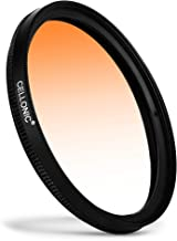 CELLONIC   Graduated color filter Orange compatible with Samyang 35mm F1 2 UMC 50mm F1 22 UMC 62mm Gradient Filter