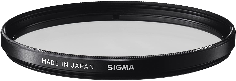 Sigma Wr Uv Filter Schwarz Kamera
