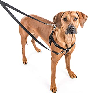 Wiggles Wags Whiskers Freedom No-Pull Dog Harness: Velvet Padding, Multi-Function & USA Made! Lots of Sizes & Colors (Leash Not Included), Medium 1