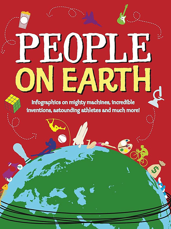 気候の山政治的変換するPeople on Earth