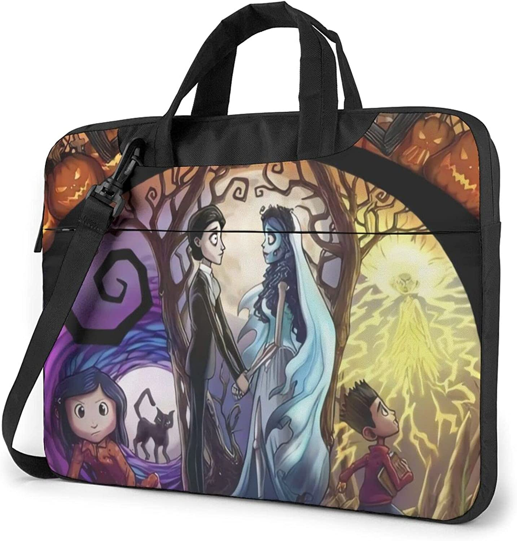 Coraline Laptop Carrying OFFicial store Max 48% OFF Case Briefcase Bag Lap Handbag Shoulder