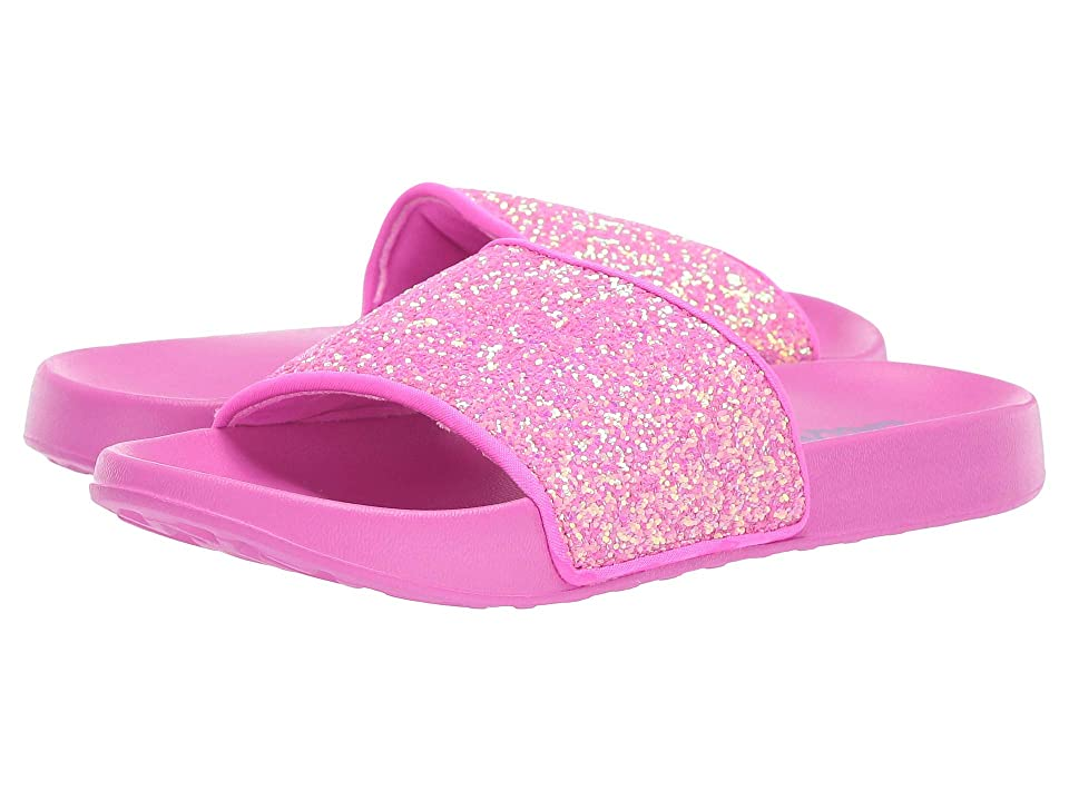 SKECHERS KIDS Sunny Slides (Little Kid/Big Kid) (Hot Pink) Girl