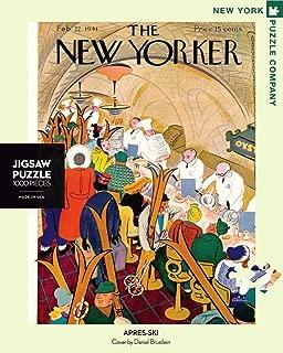 New York Puzzle Company - New Yorker Après-Ski - 1000 Piece Jigsaw Puzzle