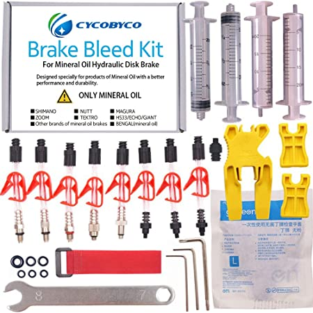 Bike brake fluid dot BRAKCO 50cc plumbing for MTB for SHIMANO TEKTRO but