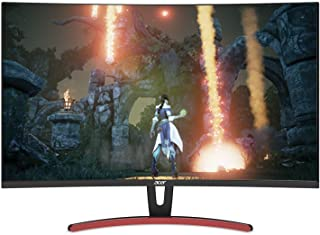 Acer ED323QUR Abidpx 31.5 Inches WQHD (2560 x 1440) Curved 1800R VA Gaming Monitor with AMD Radeon FREESYNC Technology - 4...