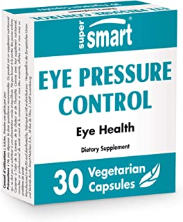 Supersmart - Eye Pressure Control - with Bilberry Extract Standardized to 36% Anthocyanins - Natural Eye Health & Anti Agi...