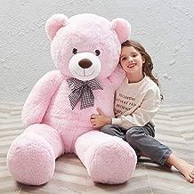 MaoGoLan Giant Teddy Bear Big Stuffed Animals Plush Toy for Girls Children Girlfriend Valentine's Day 47 inch Large Bear