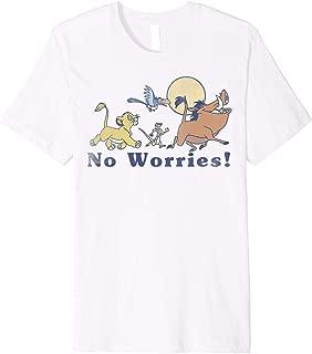 Disney Lion King No Worries Vintage Group Shot Premium T-Shirt