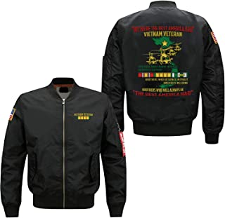 WE were The Best America HAD Vietnam Veteran Embroidered Jacket