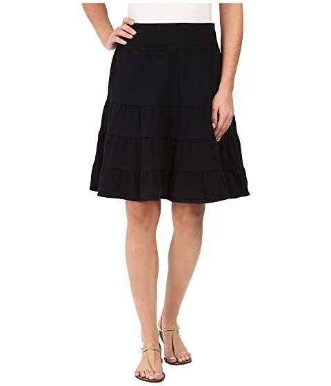 Produce Skirt Fresh Tiered Jersey Black 4qwqHfd