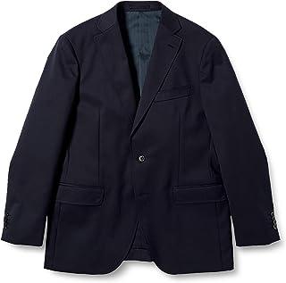[タカキュー] ジャケット 2ボタン 紺ブレザー ウォッシャブル ストレッチ シングル レギュラーフィット メンズ