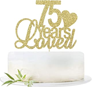Best 75 years birthday cake Reviews