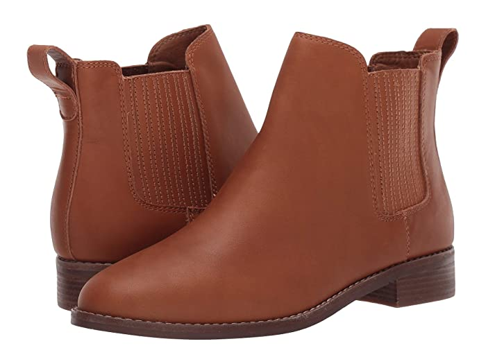 Madewell  Ainsley Chelsea Boot (English Saddle) Womens Shoes