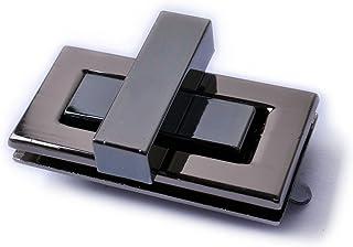 Bobeey 2sets 43x22mm Rectangle Twist Turn Locks,Rectangle Purses Locks Clutches Closures,Metal Twist Locks Purse Closure T...